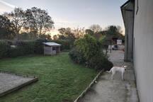 Jardin/arrière maison