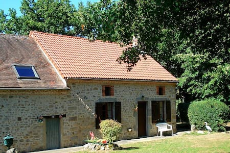 Rustic Farmhouse Cottage - Saint-Léger-Magnazeix - Rumah