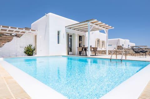 Villa Aegean Blue by LLB Villas   Beach in 500m.