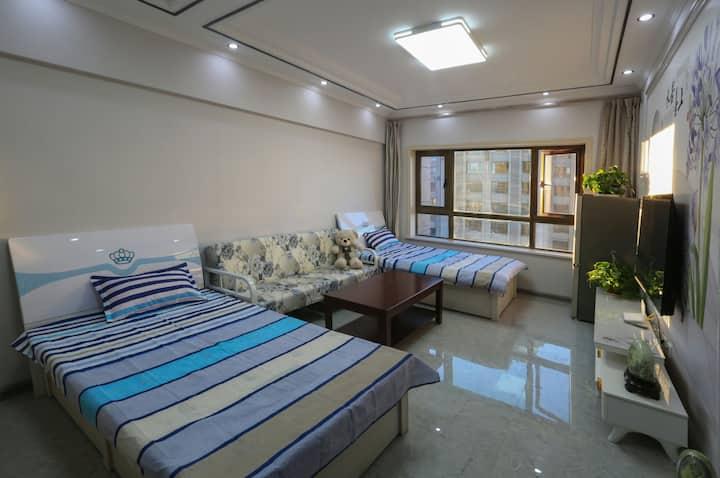整套公寓1室1厅1厨1卫3床