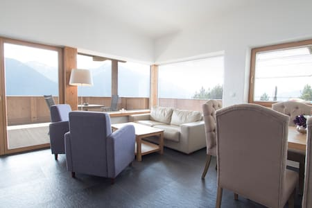 Elegante Wohnung in Mösern mit tollem Ausblick - Telfs - Condominium - 2