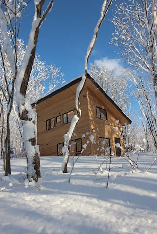 Bright, Niseko one-bed cottage