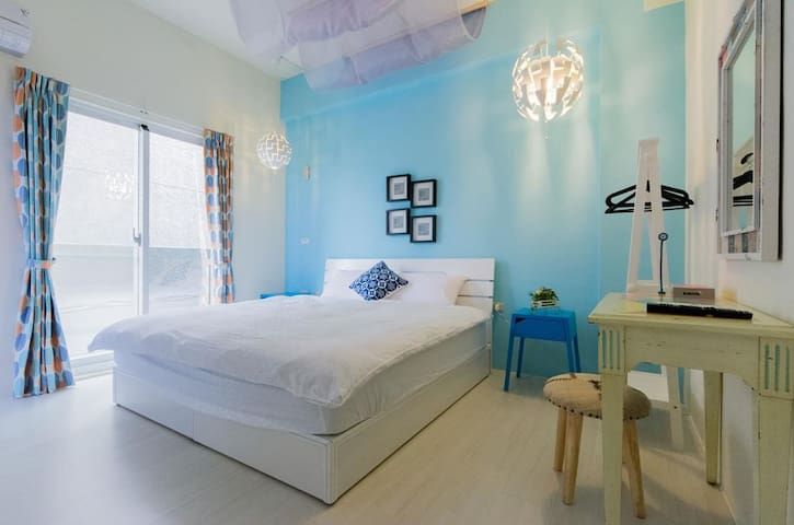 Downtown Double Room Ensuite|Be kind and live eco - Taitung city  - วิลล่า