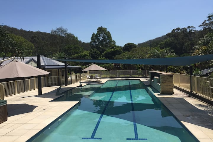 Quiet & Peaceful Secluded Retreat Style Home & Gym - Tallebudgera Valley - Haus