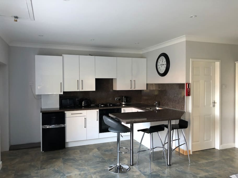The Kitchen with breakfast bar
