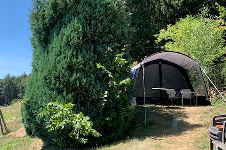 Big Tent Deutsche Eifel Natur pur