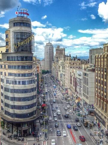 CALLAO+WIFI+CENTRO+2PERSONAS - Madrid - Apartment