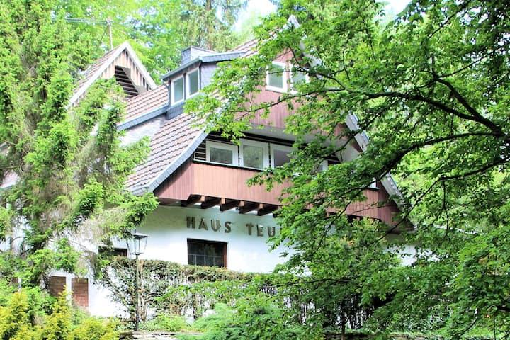 Haus Teufenbach: FeWo Am Wintergarten auf 2 Etagen