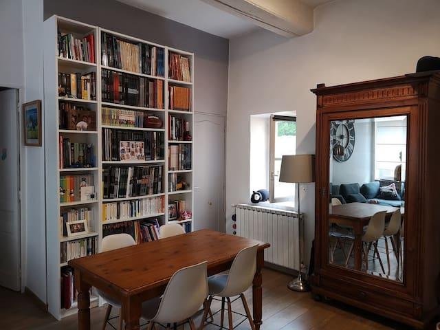 Appartement à quelques pas des quais de Saône