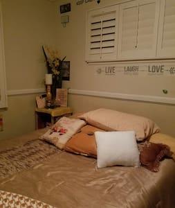 COZY BRIGHT BEDROOM 5 MILES AWAY FROM DISNEYLAND - Orange