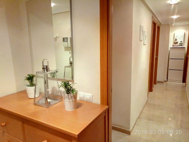 Hab. doble baño priv. Corta/Larga Estancia
