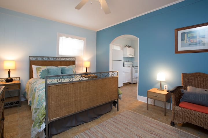 Fannies #1 Studio 100 yds to beach! - Tybee Island - Apartment