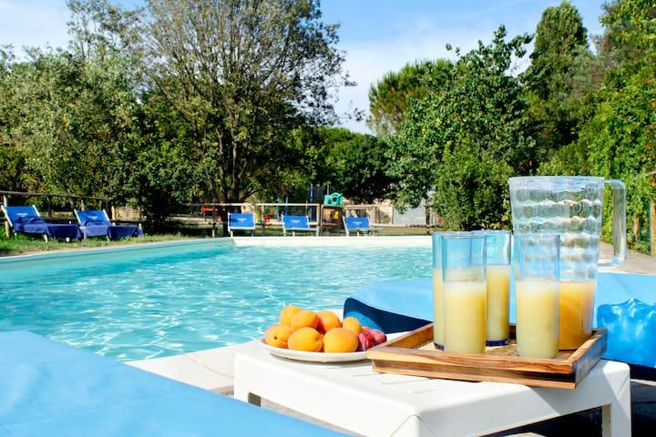 Tarabuso Appartamento con piscina e Wi-Fi