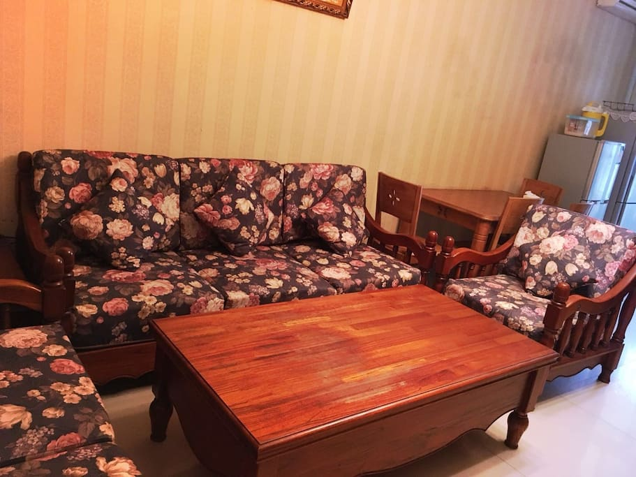 这是共享的客厅