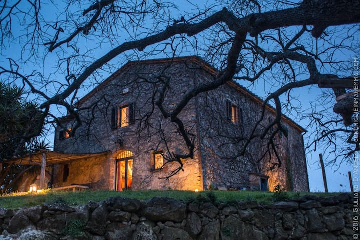 Charming country house in Tuscany- Room 1 - Manciano - Haus