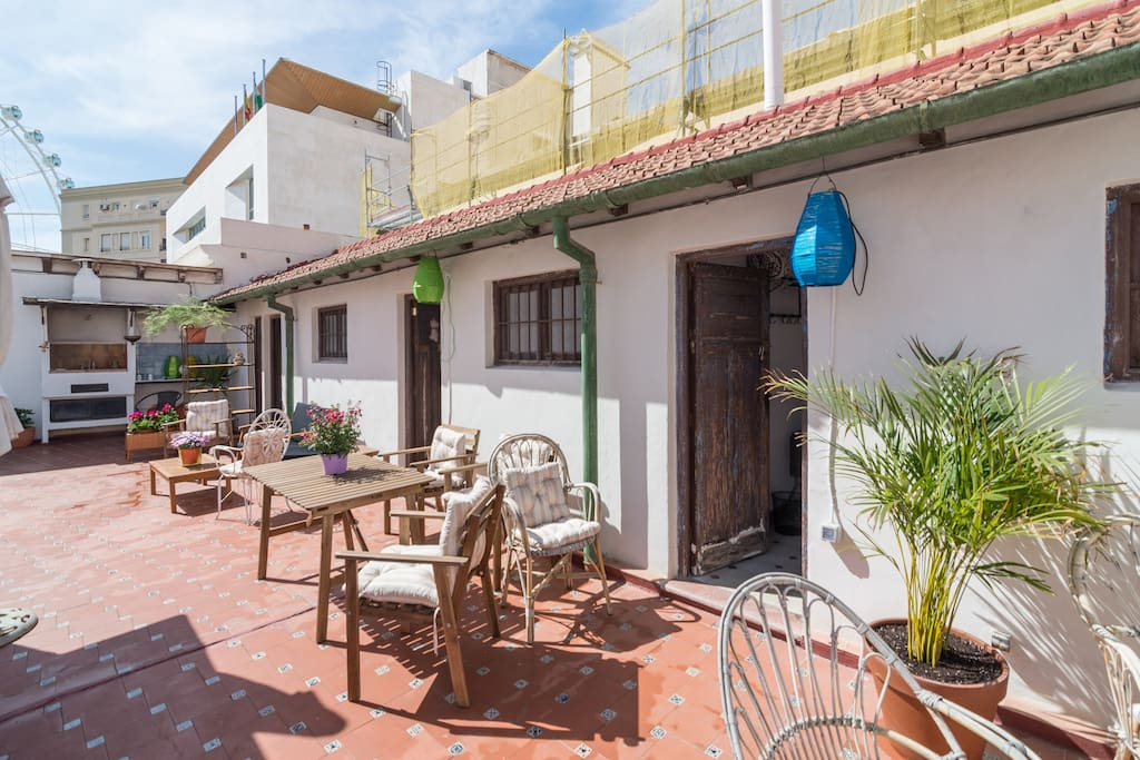 La azotea bed breakfasts for rent in m laga andaluc a for Beds 4 u malaga