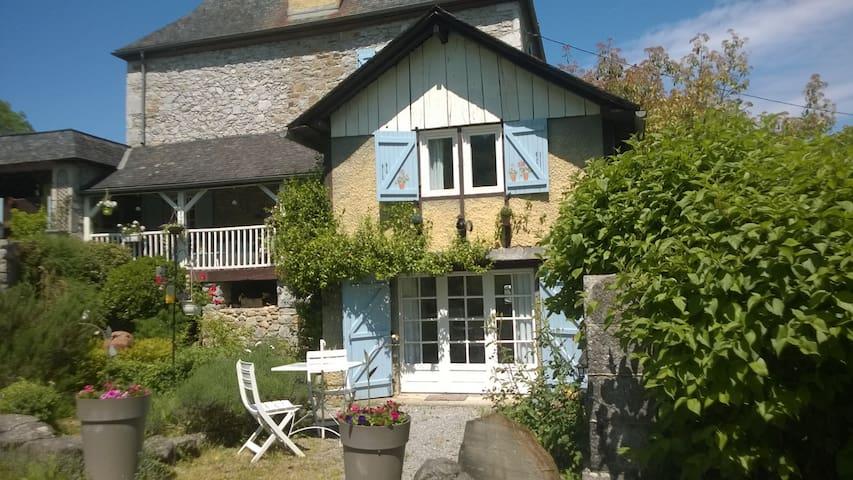 Duplex au pieds de la vallée d'Ossau - Rébénacq - Appartement