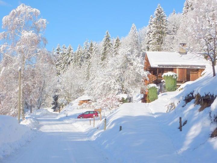 Chalet au pays du Mont Blanc