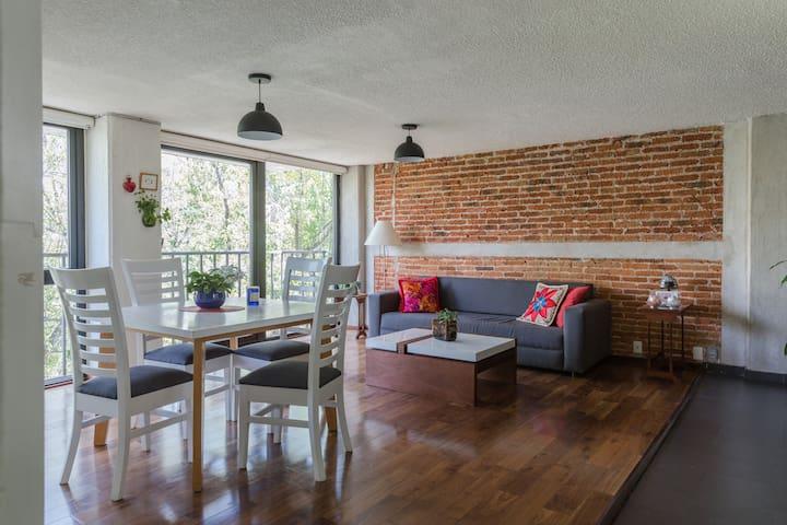 Room with private bathroom - Ciudad de México - Apartment