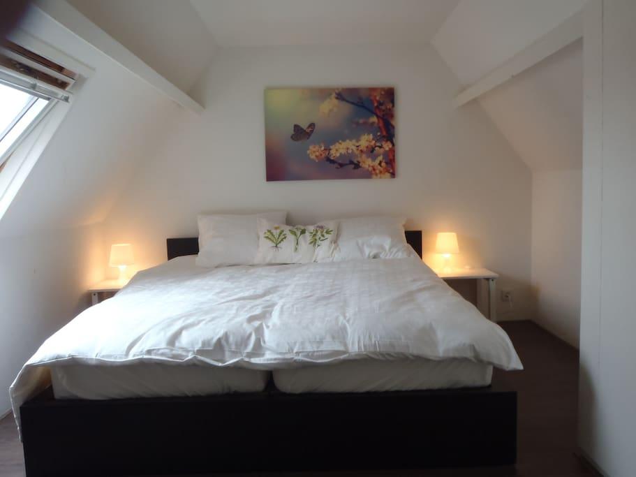 heerlijk ruim bed