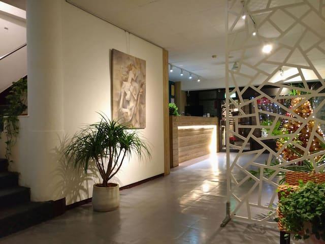 板橋捷運府中站獨立衛浴倆人同價套房202 - Banqiao District - Hostel