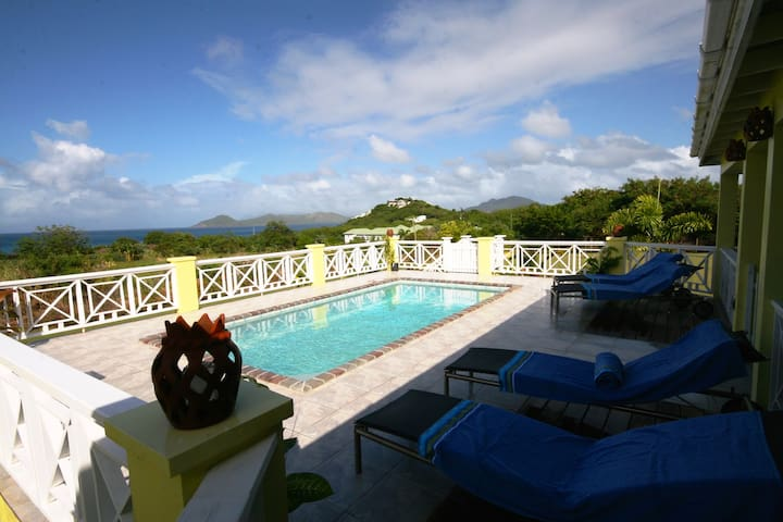 Channel View Villa, a Nevis special