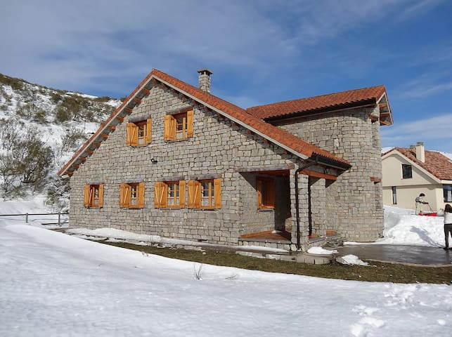 Casa en estación de esquí