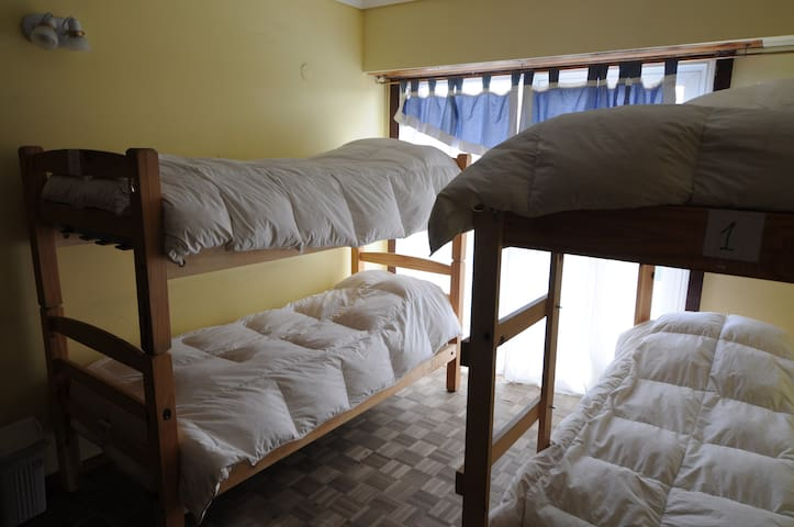 Hi Patagonia habitación compartida 6-4 camas