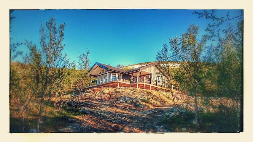 exclusive chalet on the top of the Finnmark - Kvalsund - Huis