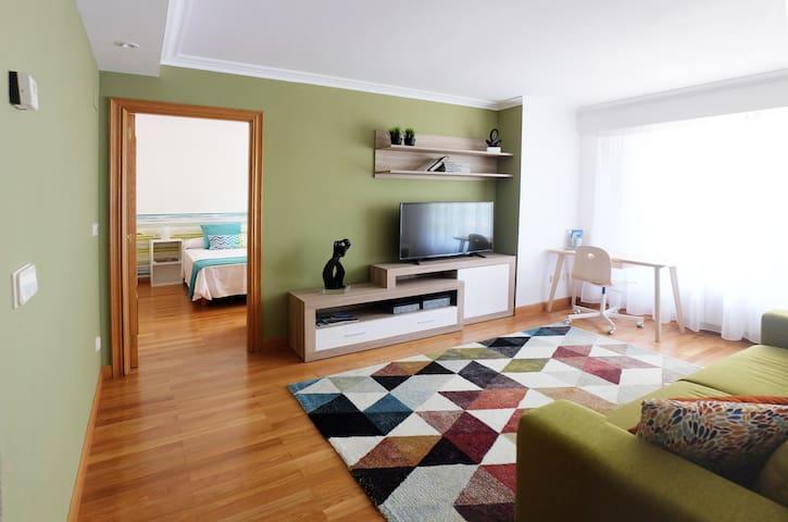 ¡NEW! Beautiful loft, near Ondarreta beach. WI-FI - Donostia - Wohnung