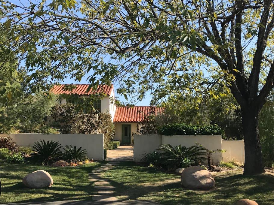 Welcome to The Hacienda House at Ojai Vista Farm