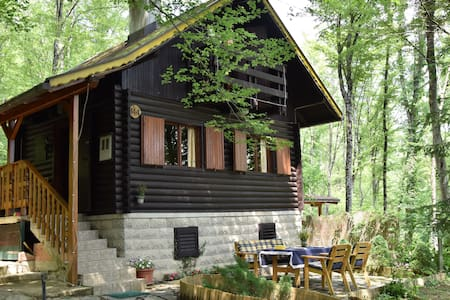 Wooden cottage Bobica