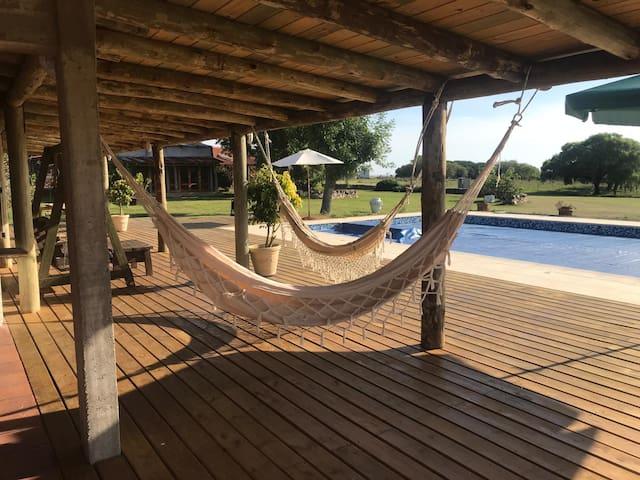 Casa rural en Colonia 2 - Spa, Piscina y Barbacoa
