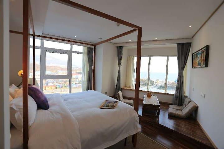豪华海景套房 - Qingdao - Bed & Breakfast