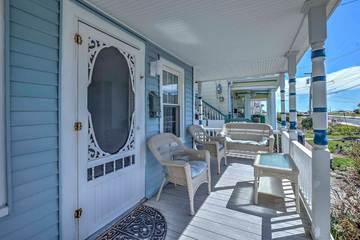 Cozy Ocean Grove Beach Retreat: Walk to the Coast!