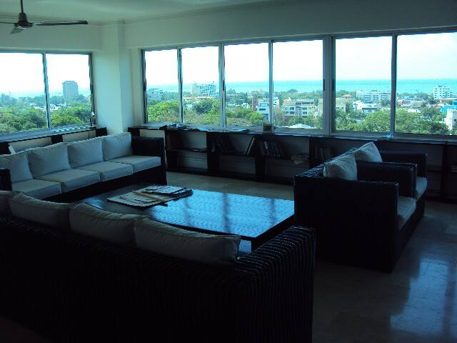 Ocean view gorgeous Penthouse center city - Santo Domingo - Lägenhet