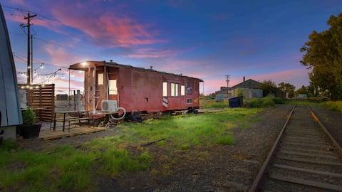 WP 434 Train Caboose (Tiny Home)
