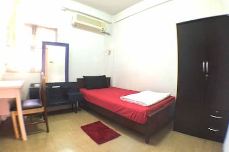 DB : Private Bedroom, 9min to BTS/MRT Asoke - Bangkok - Leilighet