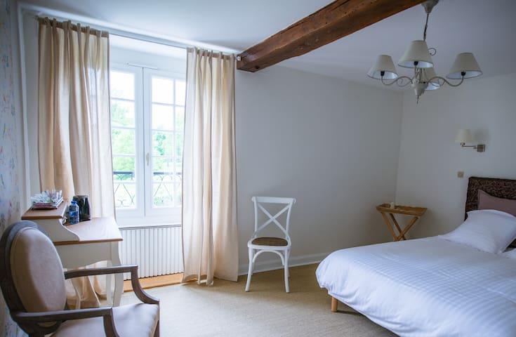 Moulin Bois Coûtant chambre Oiseaux - Vivonne - Oda + Kahvaltı