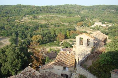 Vue exceptionnelle, calme et charme - La Roque-sur-Pernes - 一軒家