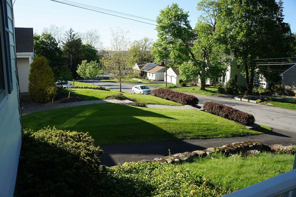 View of Willis Ave from front porch