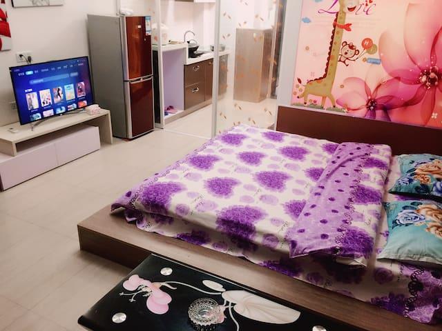 博士后实木大床房 - Fuzhou Shi - Apartment