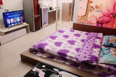博士后实木大床房 - Fuzhou Shi - Lägenhet