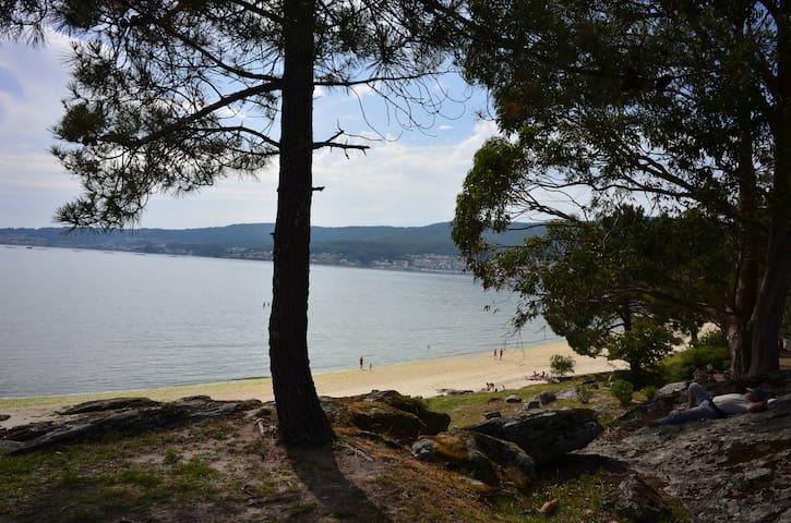 Coqueto apartamento playas Pontevedra