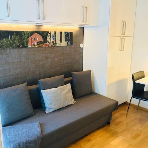 Micro-Apartment, Heimdalsgata 1A (3rd floor)