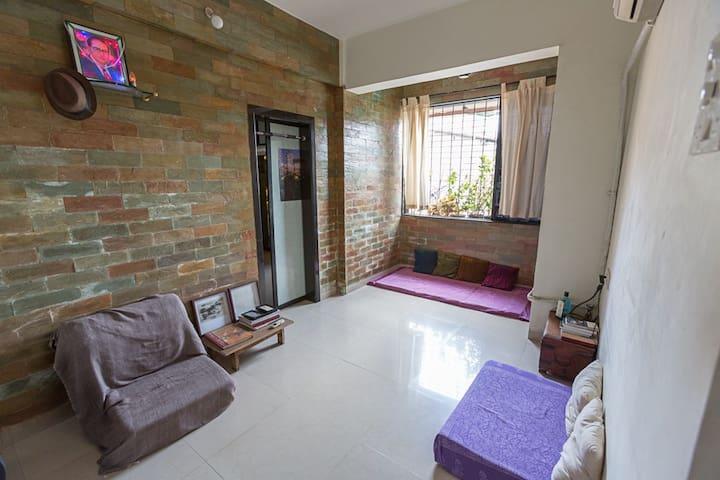 Cosy Studio Apartment near Bandra - Mumbai - Apartmen