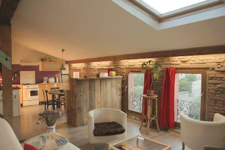 Petit loft cosy sous les toits - Tolosa