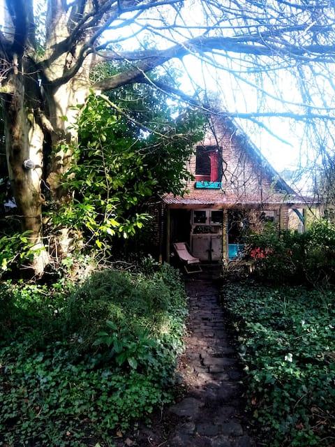 Petite maison d'artiste proche Veules les Roses