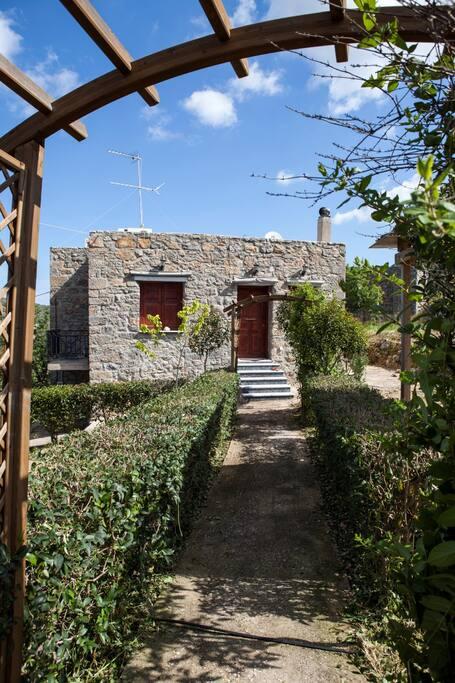 Κήπος - είσοδος