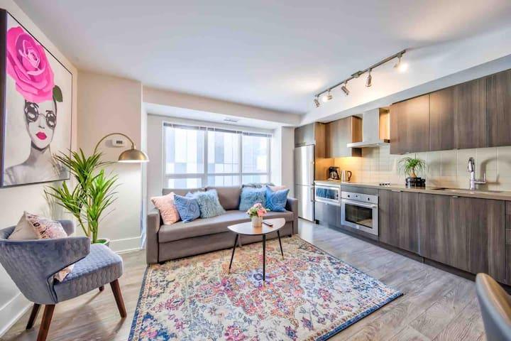 ❤️Perfect Family Suite 3Bdrms 2Bath+Parkg CN Tower